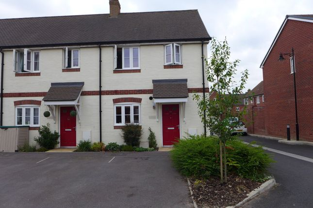 Thumbnail End terrace house to rent in Mead Way, Shaftesbury