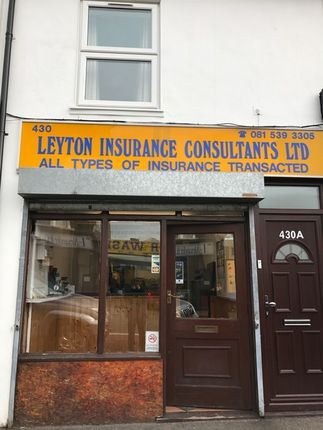 Thumbnail Office to let in Leyton High Road, London