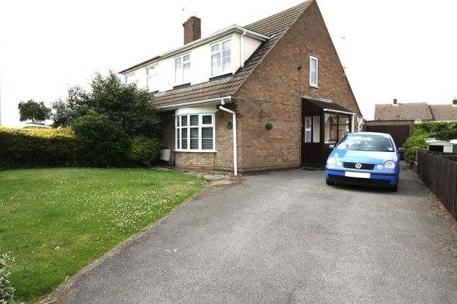 Thumbnail Semi-detached house to rent in Wigford Road, Dosthill, Tamworth
