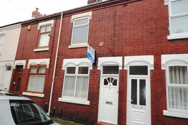 Thumbnail Terraced house to rent in Hitchman Street, Fenton, Stoke-On-Trent