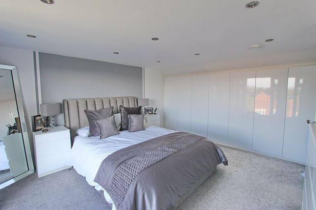 Master Bedroom of Harlech Avenue, Whitefield, Manchester M45
