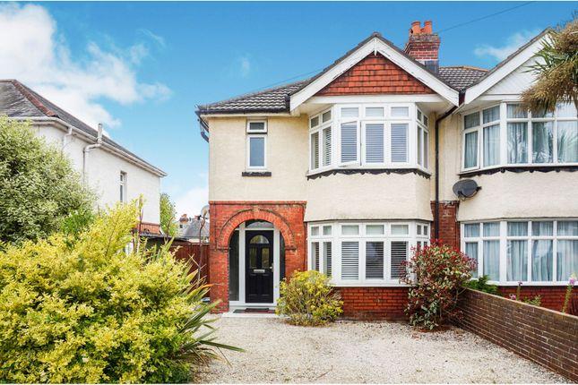 Thumbnail Semi-detached house for sale in Meadowmead Avenue, Regents Park, Southampton