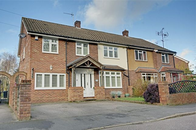 4 bed semi-detached house for sale in Honeymeade, Sawbridgeworth, Hertfordshire CM21