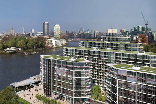 2 bed flat for sale in Riverlight, South Bank, London