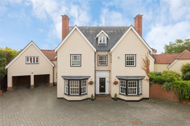 Thumbnail Detached house for sale in Winckford Close, Little Waltham, Chelmsford, Essex
