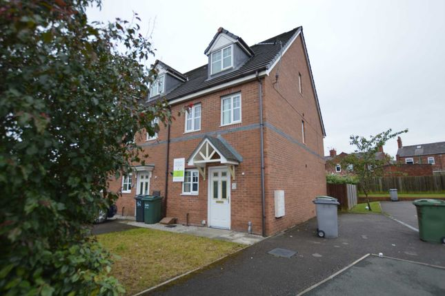 Thumbnail End terrace house to rent in Merlin Road, Tranmere, Birkenhead