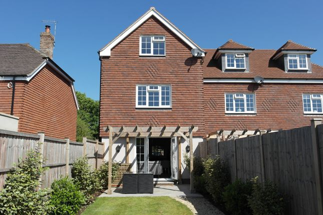 Thumbnail End terrace house to rent in Bayleaf Cottage, Westhampnett, Chichester