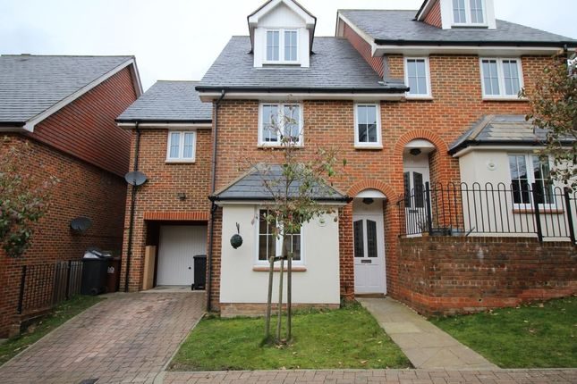 Thumbnail Semi-detached house for sale in Lincoln Way, Crowborough