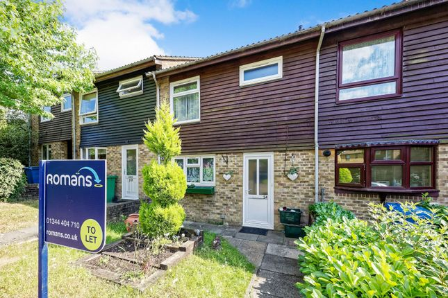 Thumbnail Terraced house to rent in Herondale, Birch Hill, Bracknell