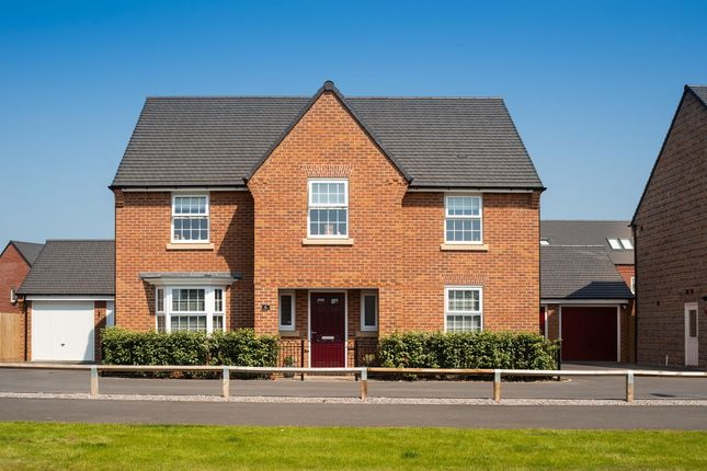 "Thumbnail Detached house for sale in ""Winstone"" at Fosse Road, Bingham, Nottingham"