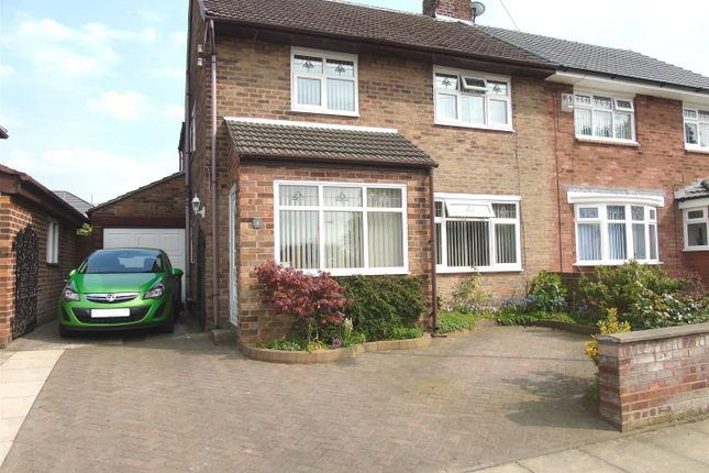 Thumbnail Semi-detached house for sale in North Avenue, Aintree, Liverpool