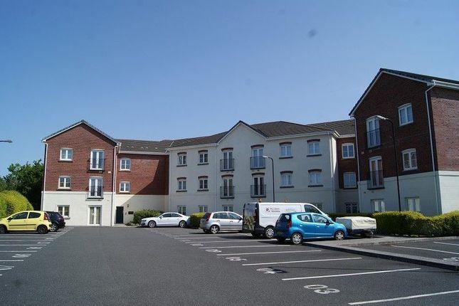 Thumbnail Flat to rent in Ty Castell House, Coychurch Road, Brackla, Bridgend.