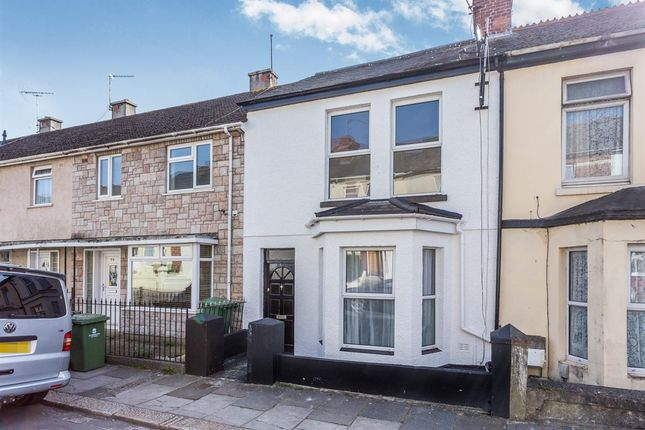 Thumbnail Terraced house for sale in Wordsworth Road, Camels Head, Plymouth