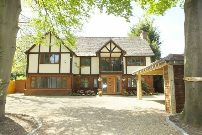 Thumbnail Detached house for sale in Forest Road, Pyrford, Woking