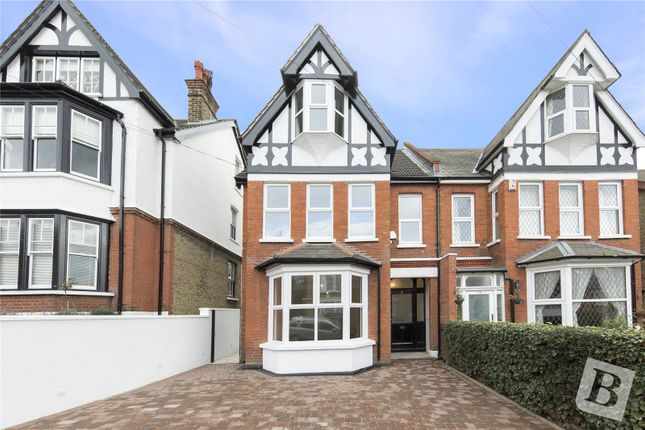 Thumbnail Semi-detached house for sale in Portland Road, Gravesend, Kent