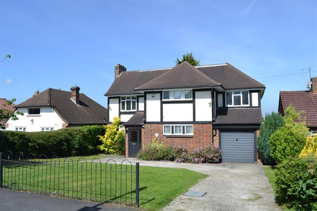 Thumbnail Detached house for sale in Ruden Way, Ewell, Epsom