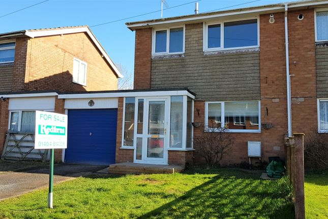 Thumbnail Semi-detached house for sale in Westminster Close, Feniton, Honiton