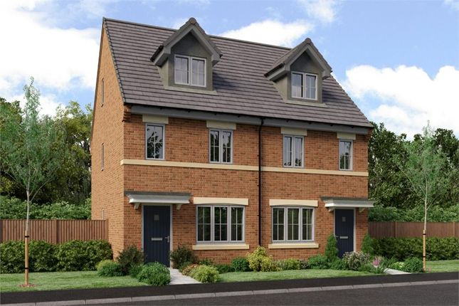 "Thumbnail Town house for sale in ""The Tolkien"" at Low Lane, Acklam, Middlesbrough"