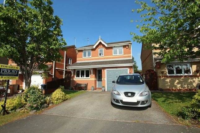 Thumbnail Detached house for sale in Oakfield Grove, Biddulph, Stoke-On-Trent
