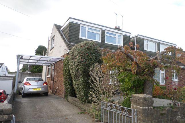 Thumbnail Semi-detached bungalow for sale in Caer Berllan, Pencoed, Bridgend