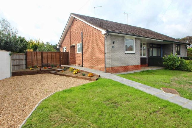 Thumbnail Bungalow for sale in Romulus Close, Mile End, Colchester