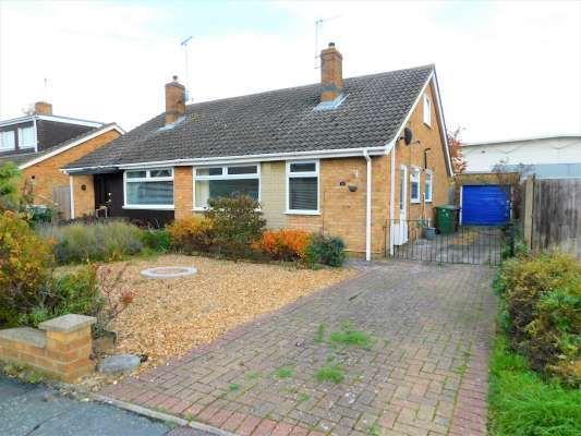 Thumbnail Semi-detached bungalow to rent in Talbot Avenue, Orton Longueville