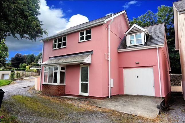 Thumbnail Detached house for sale in Dart Bridge Road, Buckfastleigh