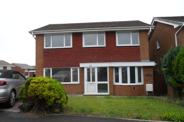Thumbnail Detached house to rent in The Willows, Bridgend