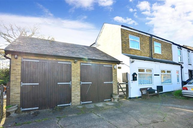 Thumbnail End terrace house for sale in Herne Common, Herne Common, Kent