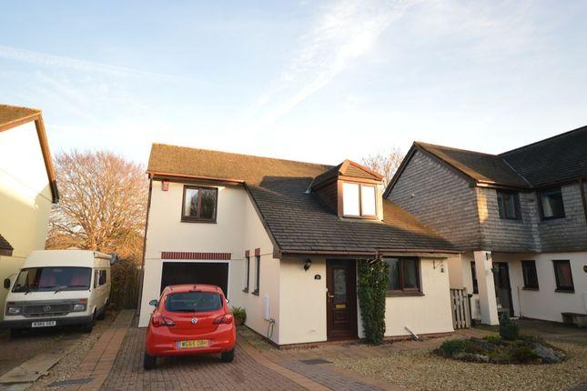 Thumbnail Detached house to rent in Emmetts Park, Ashburton, Newton Abbot