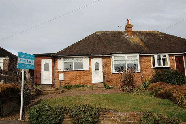 Thumbnail Semi-detached bungalow for sale in Dalehurst Road, Bexhill-On-Sea, East Sussex