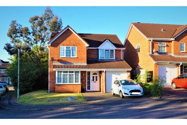 Thumbnail Detached house for sale in Hazel Close, Swadlincote