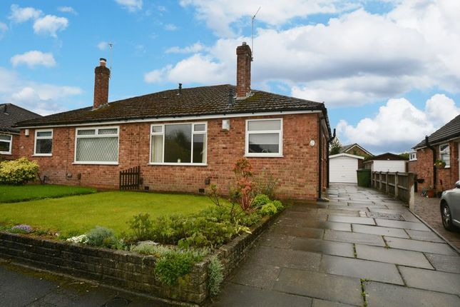 Thumbnail Semi-detached bungalow to rent in Eastleigh Road, Heald Green, Cheadle