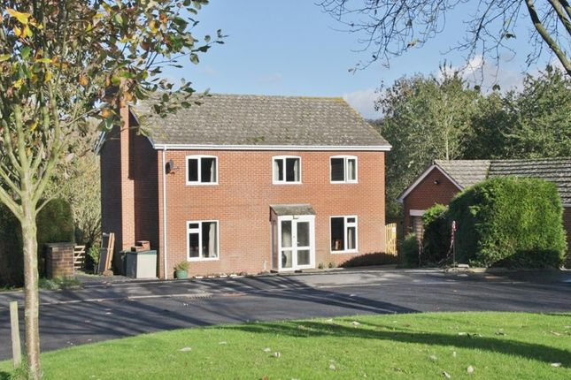 Thumbnail Detached house to rent in Copper Beeches Close, Much Dewchurch, Hereford