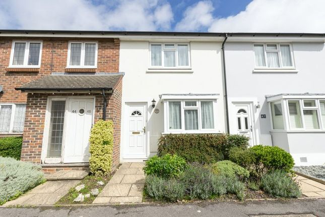 Thumbnail Terraced house for sale in Woodfield Close, Tangmere, Chichester
