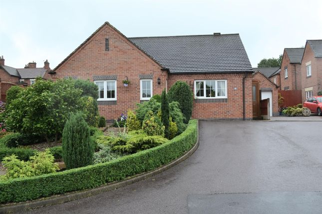 Thumbnail Detached bungalow for sale in Sunnyside, Newhall, Swadlincote