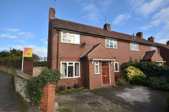 Thumbnail Semi-detached house to rent in Church Lane, Monk Fryston, Leeds