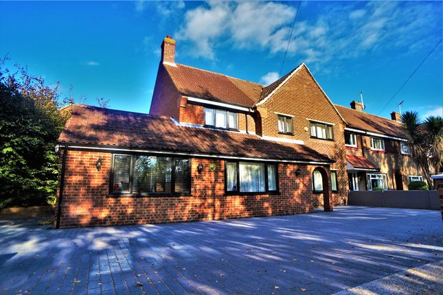 Thumbnail End terrace house for sale in Marks Square, Northfleet, Gravesend