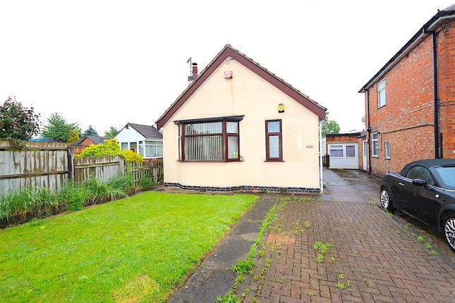 Thumbnail Bungalow for sale in Holmfield Avenue West, Leicester Forest East, Leicester