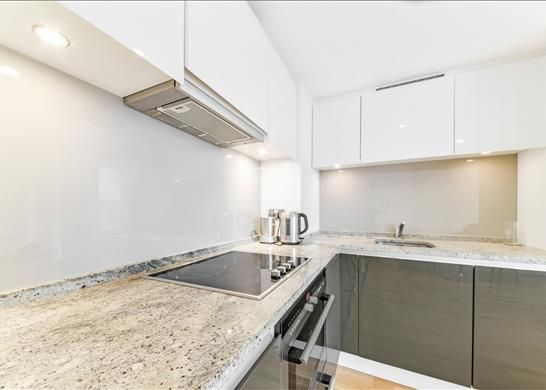 Kitchen of Landmark West Tower, Nr Canary Wharf, London E14