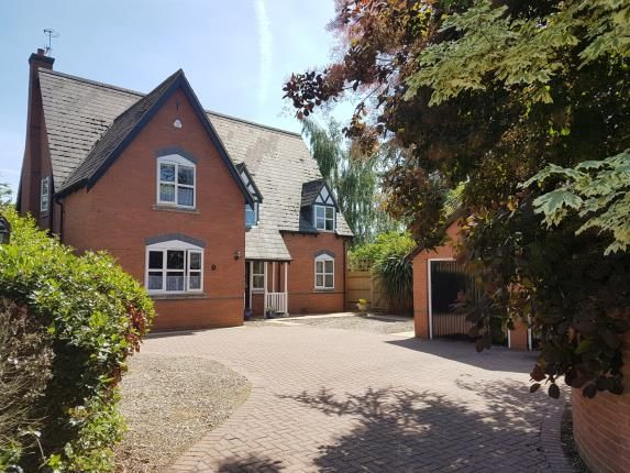 Thumbnail Detached house for sale in Fernbank, Greenhill, Evesham, Worcestershire