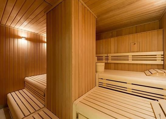 Sauna of Windlesham House, One Tower Bridge, London SE1