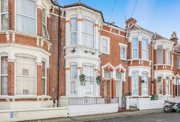 Thumbnail Terraced house for sale in Southsea, Hampshire, Beach Road