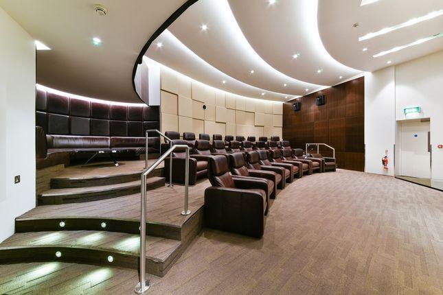 Cinema of East Tower, Pan Peninsula, Canary Wharf E14
