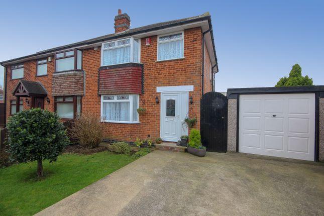Thumbnail Semi-detached house for sale in Holtlands Drive, Alvaston, Derby