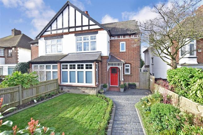 Thumbnail Semi-detached house for sale in Wrotham Road, Gravesend, Kent
