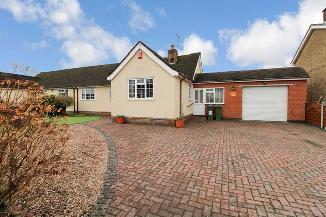 3 bed semi-detached bungalow for sale in Lutterworth Road, Blaby, Leicester LE8