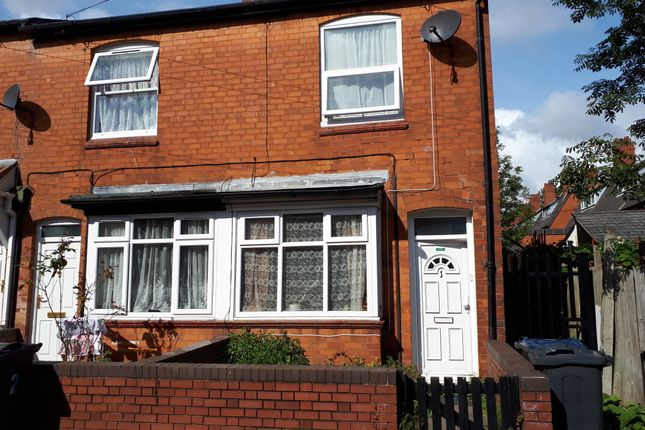 Thumbnail Terraced house to rent in Oak Avenue, Runcorn Road, Balsall Heath, Birmingham