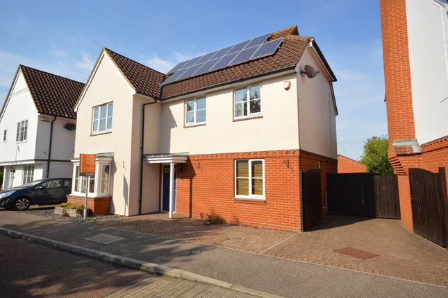 Thumbnail Detached house for sale in Oxley Parker Drive, Mile End, Colchester