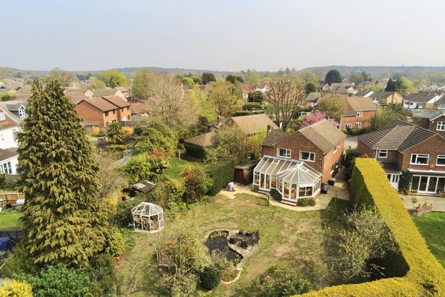 Thumbnail Detached house for sale in Bedford Crescent, Frimley Green, Camberley